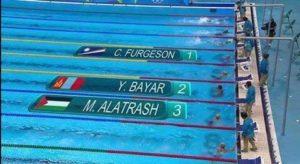 Pal--swimmer Miri Alatras
